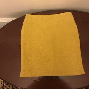 Wool lined skirt